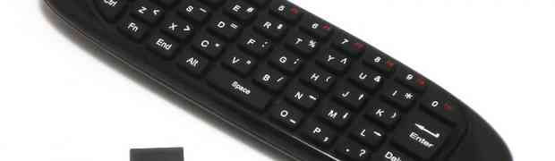 C120 2.4GHz Air Fly Mouse Wireless Mini Keyboard Review